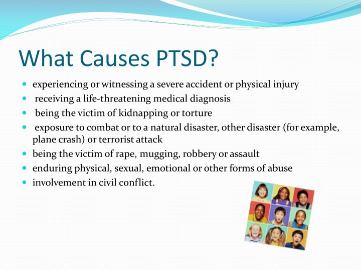 What causes ptsd