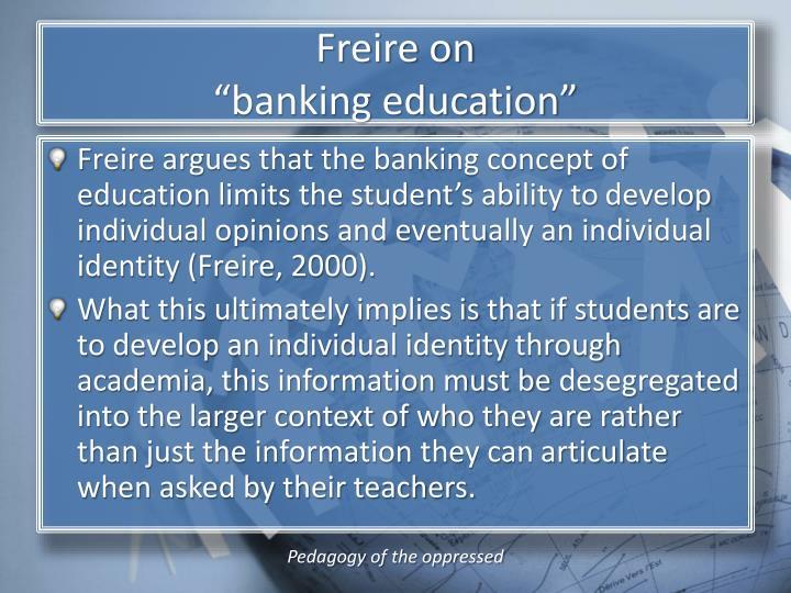Freire on