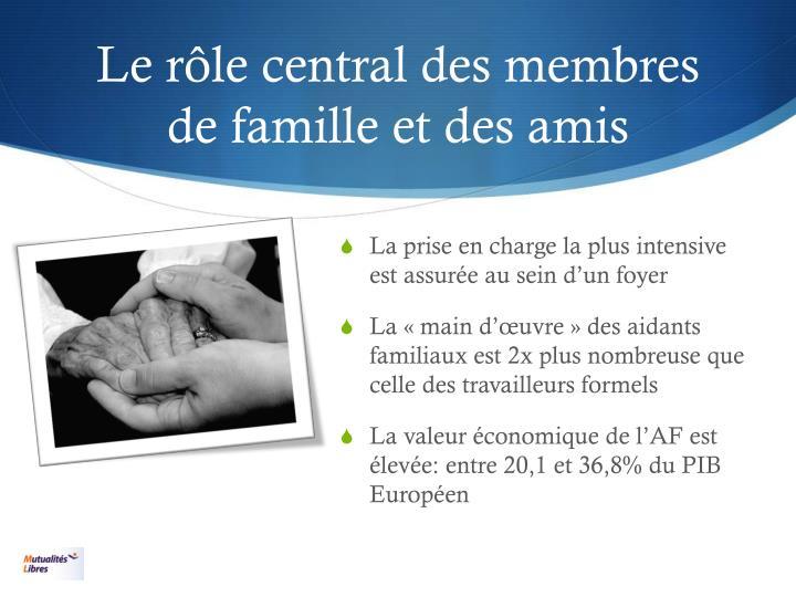 Le rôle central des membres