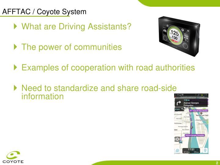 AFFTAC / Coyote System