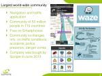 largest world wide community