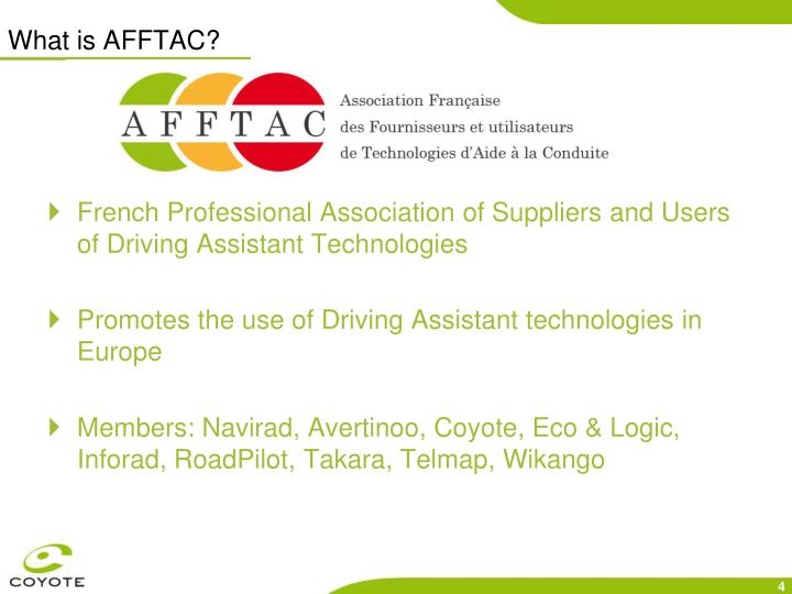 What is AFFTAC?