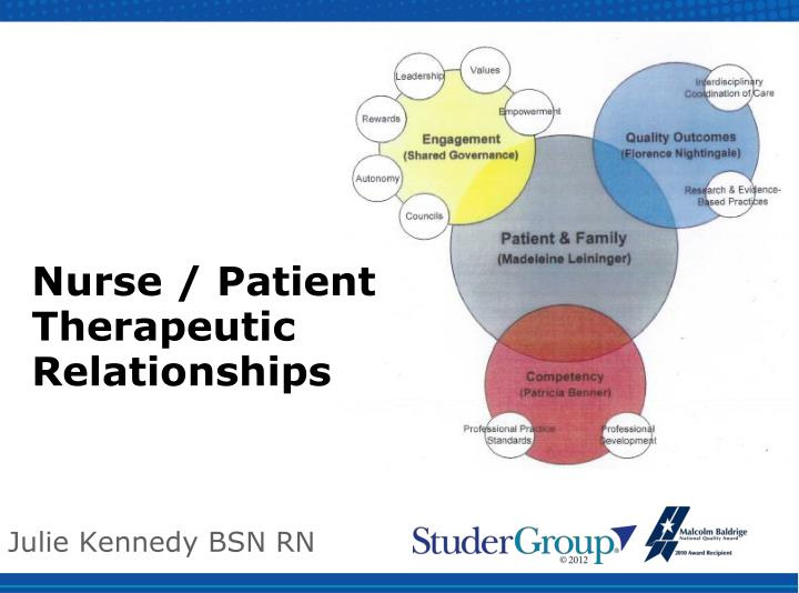 Defining A Therapeutic Relationship Between Patient And