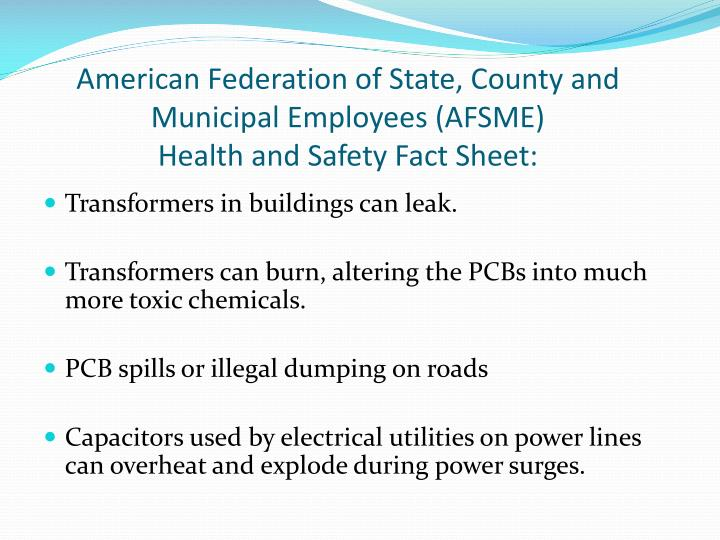 American Federation of State, County and Municipal Employees (AFSME)