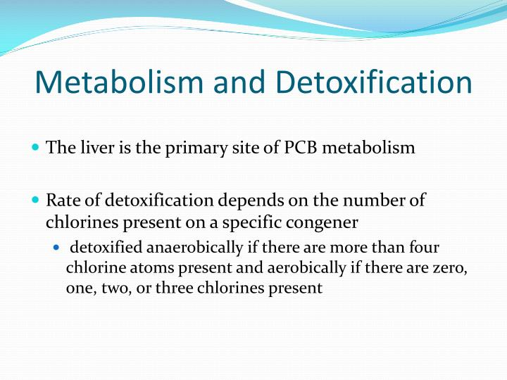 Metabolism and Detoxification