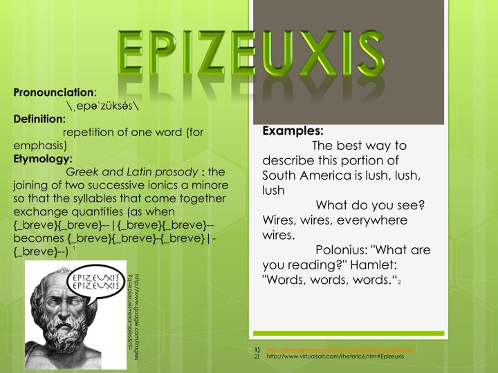 Epizeuxis
