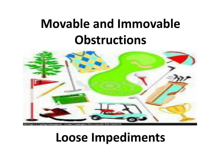 Movable and Immovable Obstructions