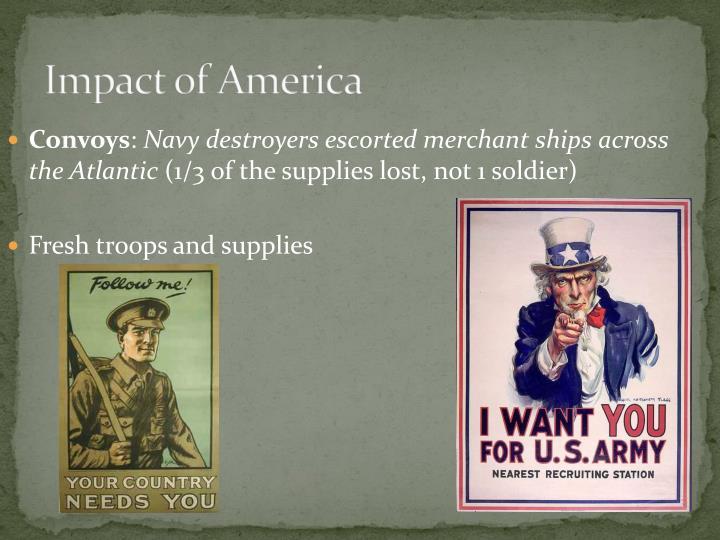 Impact of America
