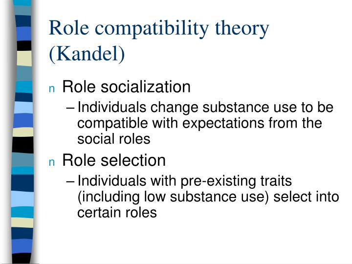 Role compatibility theory (Kandel)