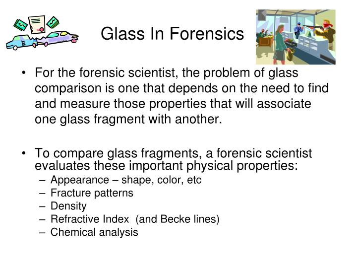 Glass In Forensics