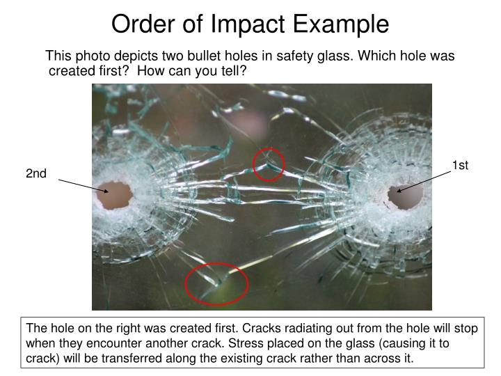 Order of Impact Example