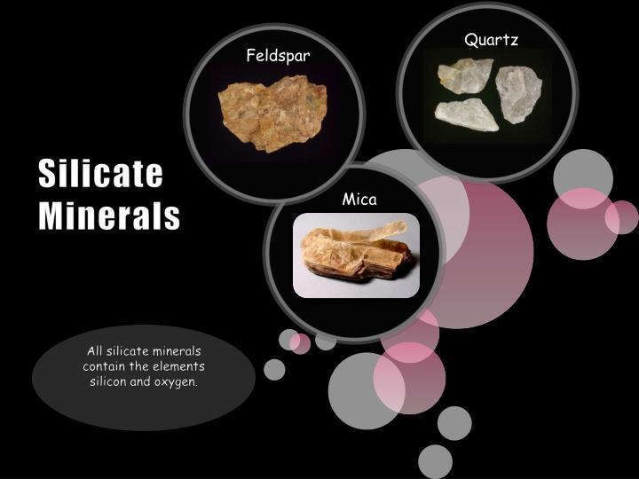 Silicate Minerals