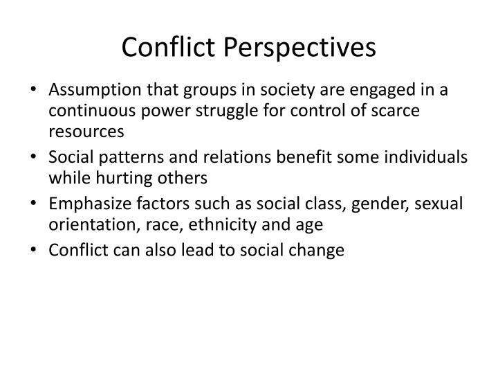 Conflict Perspectives