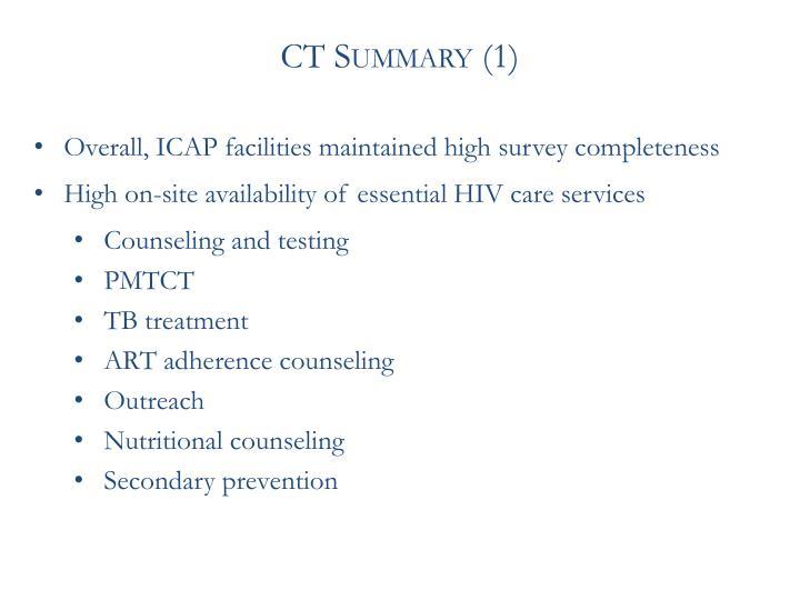 CT Summary (1)