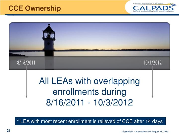 CCE Ownership