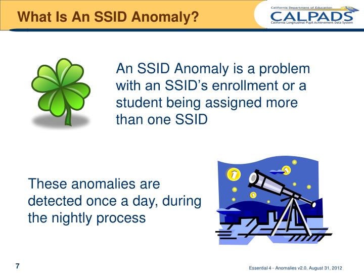 What Is An SSID Anomaly?