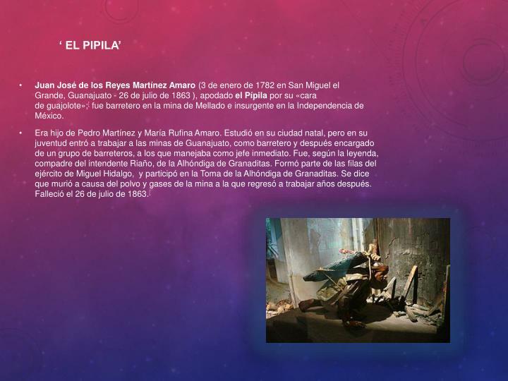 ' El pipila'