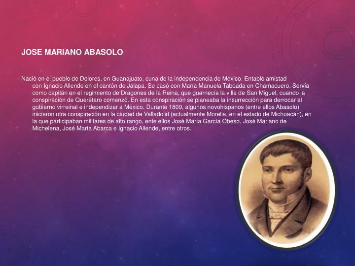 Jose Mariano Abasolo