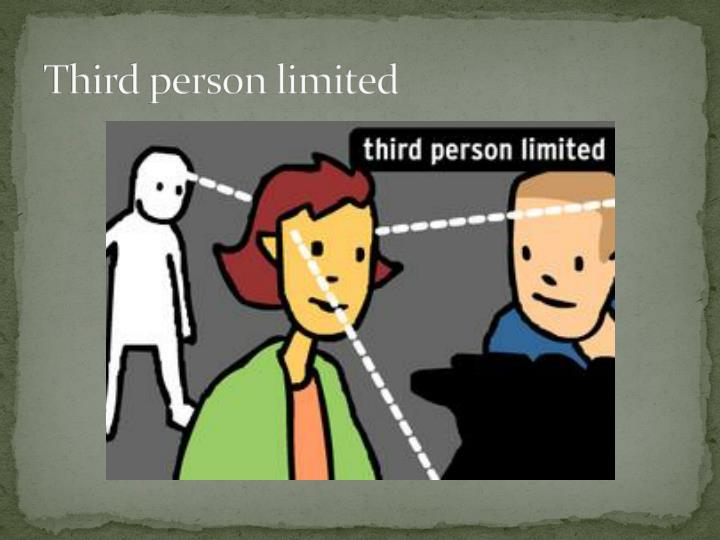 Third person limited