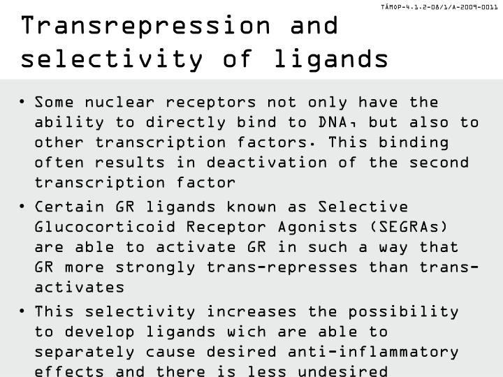Transrepression