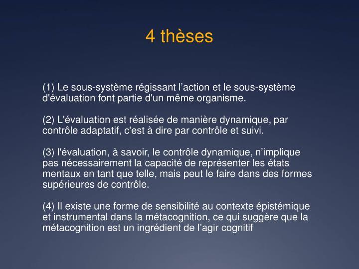4 thèses