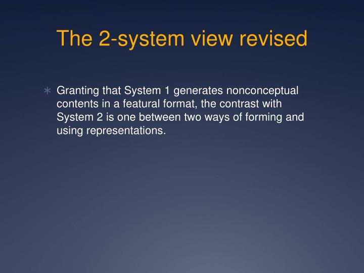 The 2-system