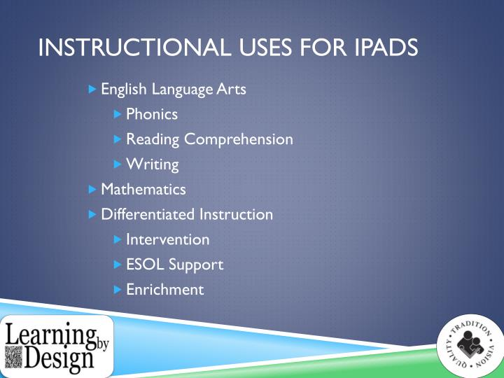 Instructional Uses for