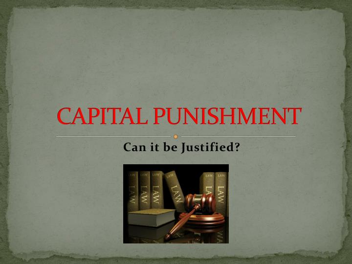 the history of capital punishment essay