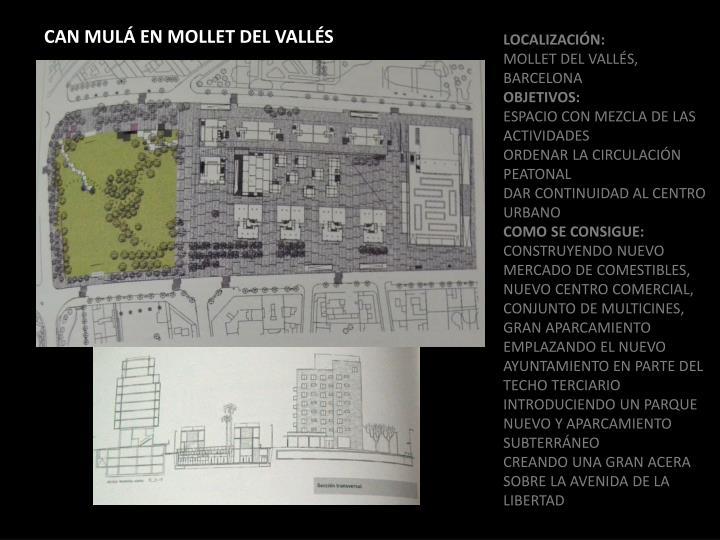 CAN MULÁ EN MOLLET DEL VALLÉS
