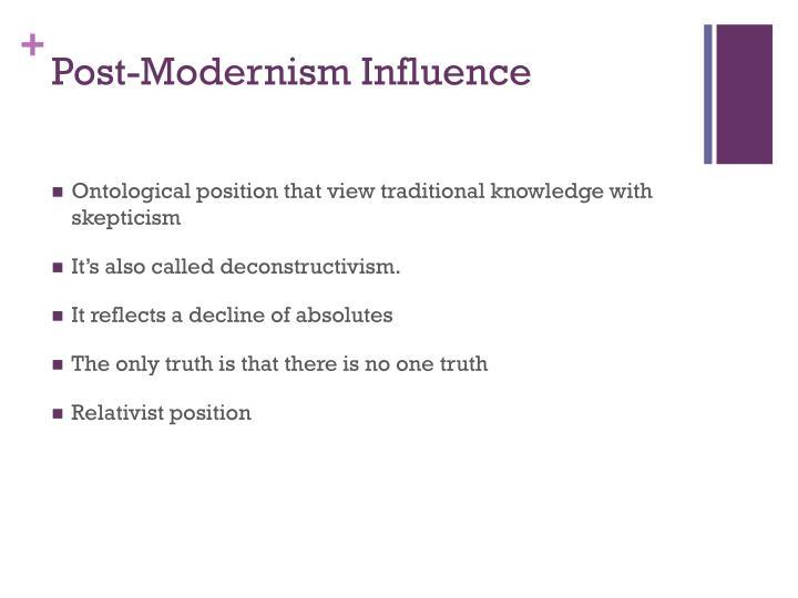 Post-Modernism Influence