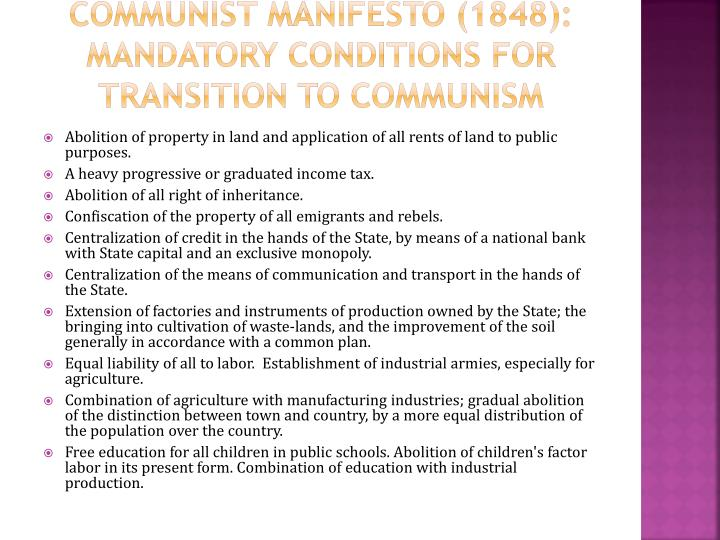 an analysis of the 1848 communist manifesto This essay communist manifesto analysis and other 63,000+ term papers karl marx wrote in 1848 the communist manifesto claims that in this stage of.