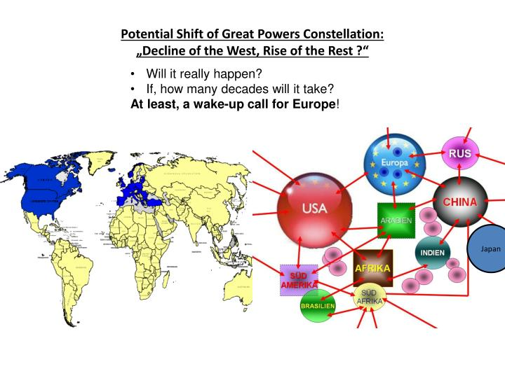Potential Shift of Great Powers Constellation: