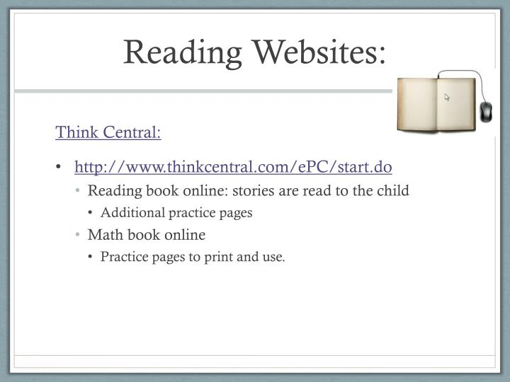 Reading websites