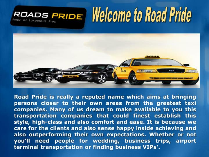 Welcome to Road Pride