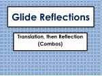 glide reflections