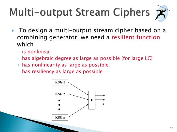 Multi-output Stream Ciphers