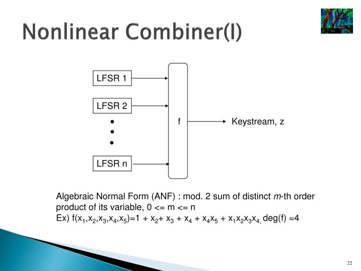 Nonlinear Combiner(I)
