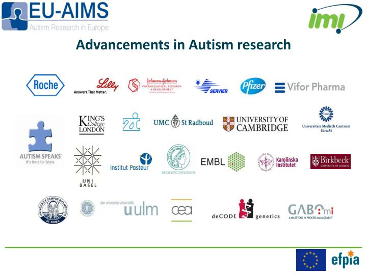 Advancements in Autism research