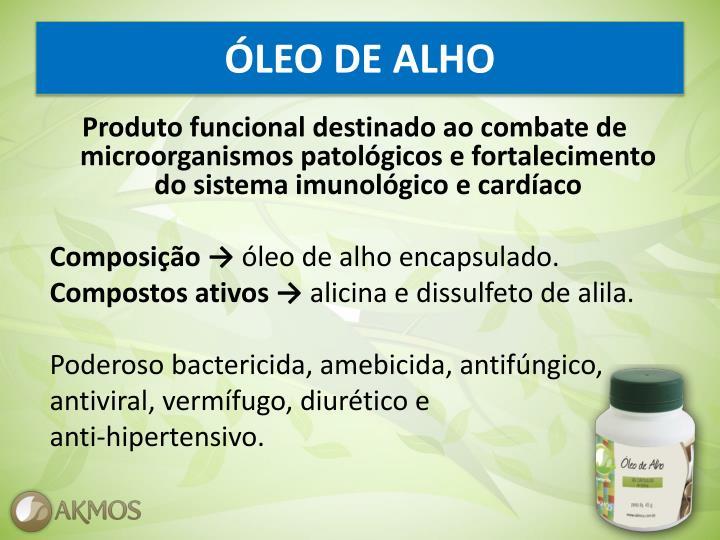 ÓLEO DE ALHO