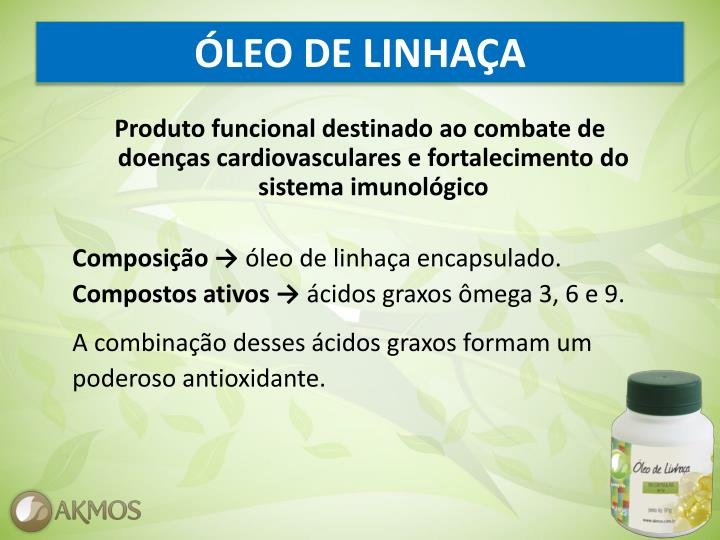 ÓLEO DE LINHAÇA