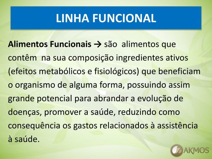 LINHA FUNCIONAL