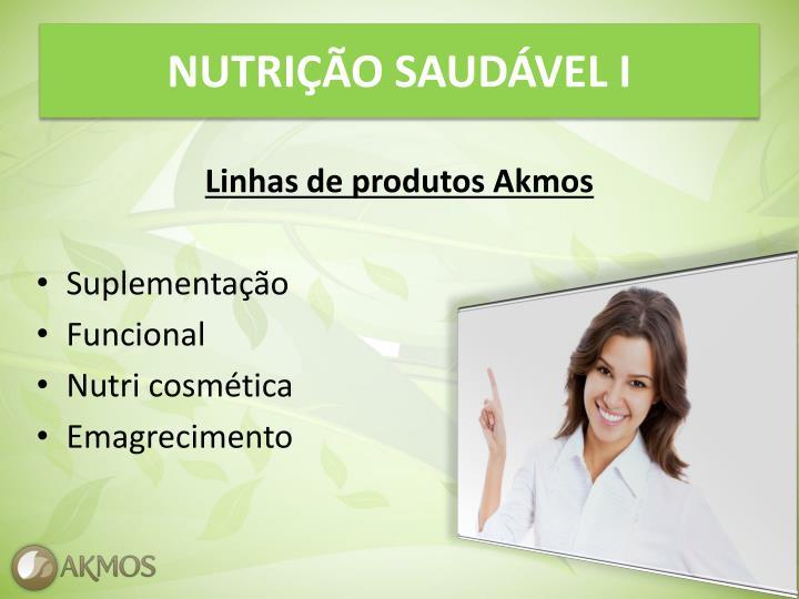 NUTRIÇÃO SAUDÁVEL I