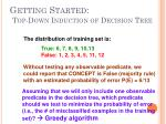 getting started top down induction of decision tree1
