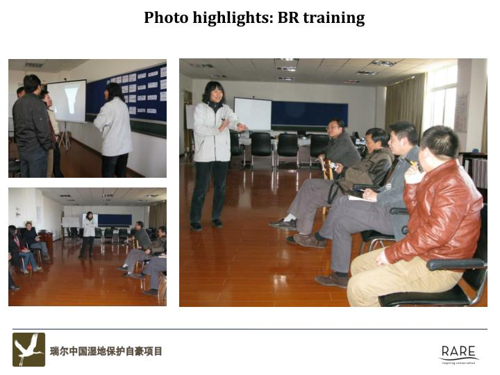 Photo highlights: BR training