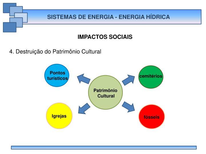 SISTEMAS DE ENERGIA - ENERGIA HÍDRICA