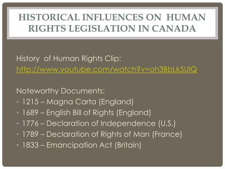 legislation for human rights pdf french and english