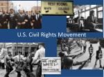 u s civil rights movement