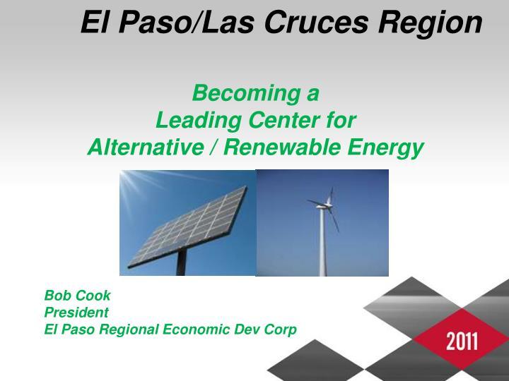 El Paso/Las Cruces Region
