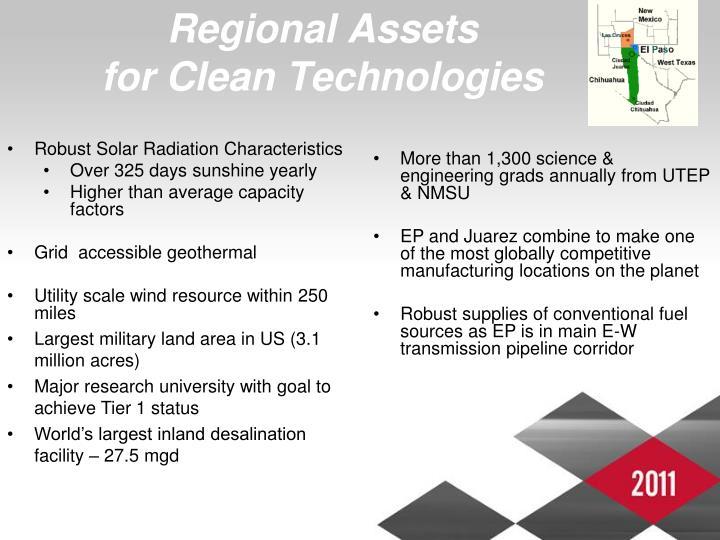 Regional Assets