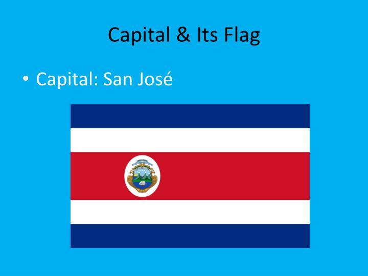 Capital & Its Flag